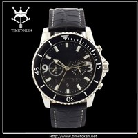 Dongguan Supplier High Quality Chronography Sports MEN Watch Buckle Japan Movt With 2 Pusher