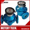 Acrylic mechanical water flow meter