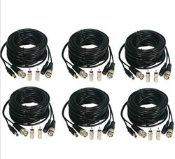 10m/15m/20m/25m/30m/50m/70m CCTV Camera Video & Power Cable BNC RCA