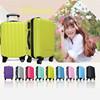 best quality good sale pu colourful assoda trolley&luggage bag,ABS travel luggage bags