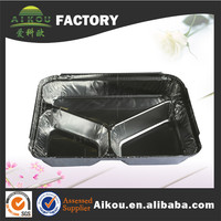 Microwave and oven safe diaposable aluminum baking dish for restaruant