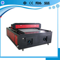big laser textile garment cutting machine for processing cloth