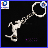 Low price promotion horse key chain Suitable for men and women car keychain gift