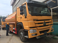 good price howo 11cbm oil tank truck fuel tanker
