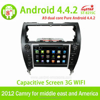 2 years Warranty Android GPS internet WIFI Bluetooth TV USB Radio for for toyota camry 2012 car radio