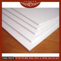 High density free plastic pvc foam board of professional supplier