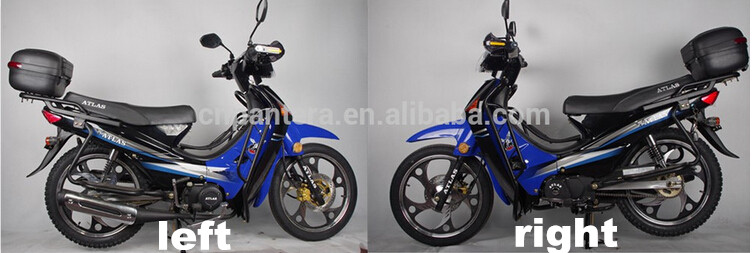 Gasoline Cub Motorcycle Chinese Cheap 110cc Motorbike Moped