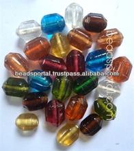 Plain Assorted Mix Glass Beads PMX-012