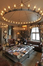 CT00080 restoration hardware sputnik chandelier