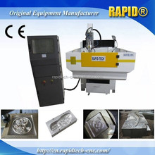 Heavy Duty 4 Axis Swing Head CNC Router Machine with DSP
