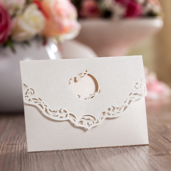 cut small wedding invitation card thank you card stg2 buy wedding