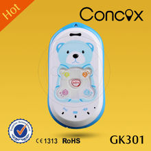 Mini pear phone specially designed for kids with easy operation and long distance control