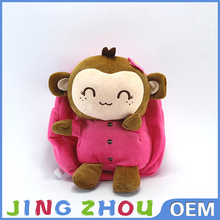 safe for kids different animal shapes stuffed plush animal waist bag