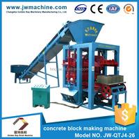 Factory directly selling 12.75KW 380V ecological concrete interlocking block machine