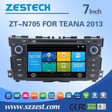 ZESTECH factory car audio system for Nissan teana auto parts