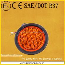 DOT approved 24 light soft edge LED tail truck lights