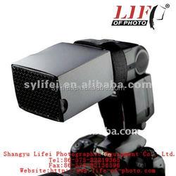 photographic equipment MF7555 Mini Flash Diffuser Softbox flash diffuser snoot with honey comb