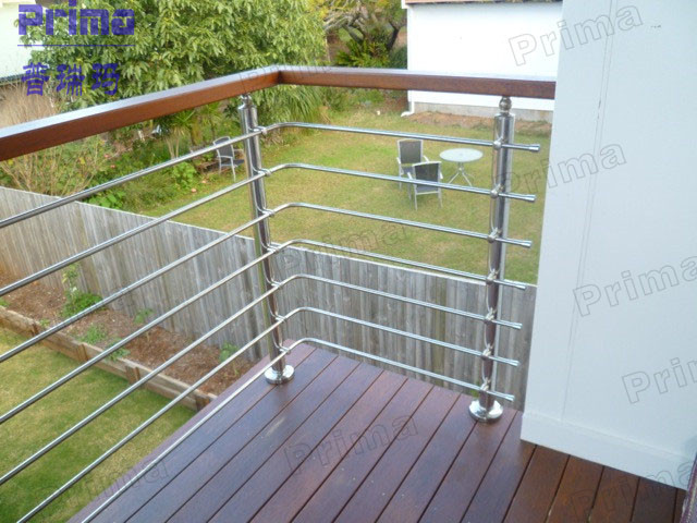 decking balustrade with pvc handrail stainless steel handrail design for stair view stainless. Black Bedroom Furniture Sets. Home Design Ideas