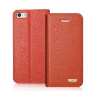 Detachable Wallet Leather Case For iPhone 5,For iPhone 5 Leather Case