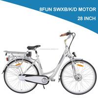 LOHAS/OEM 28 inch green city electric bike/city 28''/cheap bike 8fun/bafang mid drive motor