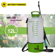 (1040) on wheels 2 and 3 Gal portable garden rechargeable battery power never pump sprayer