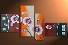 handmade fashion flower painting