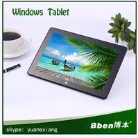 High performance 10.1 inch Quad core windows 7 3G tablet pc