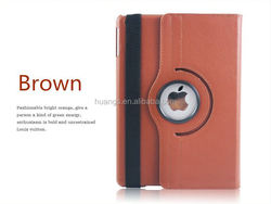 New arrival Lychee Pattern Folder 360 Degree Rotation Leather Case for ipad air 2 flip leather pu case wholesale