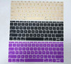 US layout silicone keyboard cover for macbook pro retina 12
