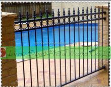 2015 aluminum decorative fencing/garden fencing panels/install fence post
