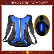 New product Rechargeable led lights backpack bag