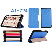 """THIN LEATHER CASE COVER FOR ACER ICONIA TALK S 7"""" TABLET A1-724 (2015)"""