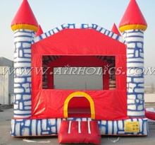2015 new design happy cartoon inflatable bouncer/inflatable funny jumping house for kids