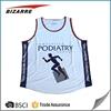 Customized sublimation sleeveless t shirts