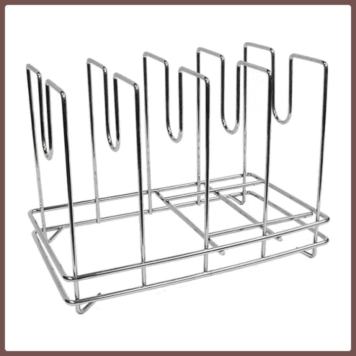 Chrome Plated Steel Wire Pizza Mesh Screen Rack
