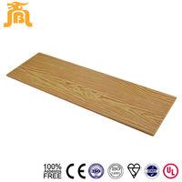 Beige color Fiber cement Wood lap siding 9mm