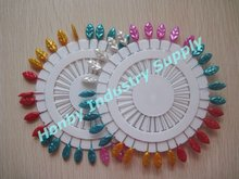 Functional Size 55mm Mix Colored Decorative Head Pin for Office&Hijab&Sewing