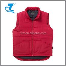 2015 Hot Sale Men's Quilted Warmer Gilet Vest