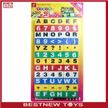 Educational wooden alphabet puzzle toy 3d cube block puzzle wooden toys