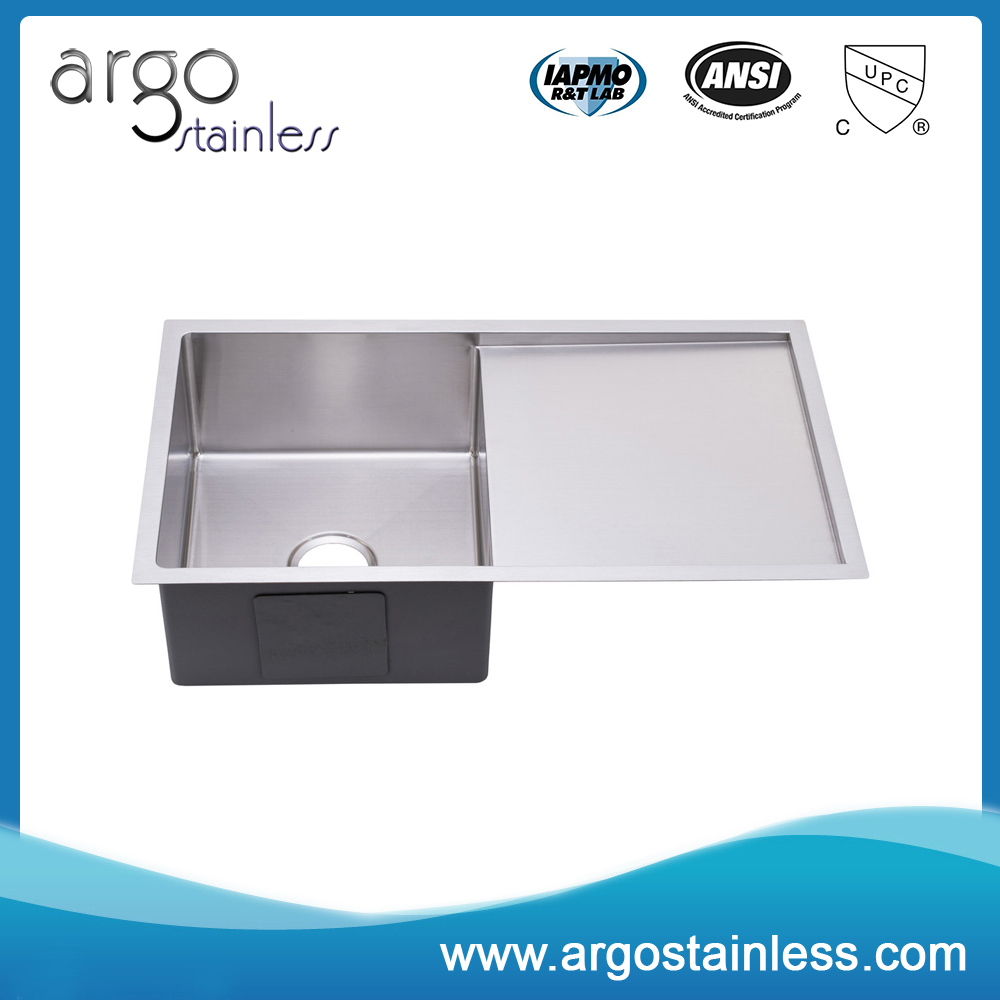 High Quality Handcrfated Topmount Stainless Steel Kitchen
