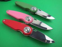 OEM Conference Gift new 440 knife 3 colors folding knife UDTEK01945