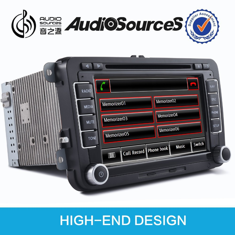 Car Audio With Navigation Systems : Car multimedia system with gps navigation for vw jetta