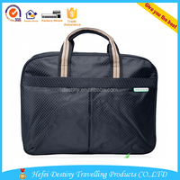 high quality customized lightweight men waterproof laptop briefcase