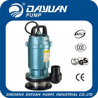 QDX 1'' 1.5m3/h best submersible pumps in China