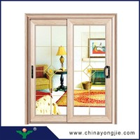 China new design interior door used sliding glass doors sale for balcony