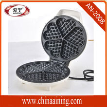 Automatic Electric Cast Iron Egg Waffle Maker with Non Stick Cooking Surface