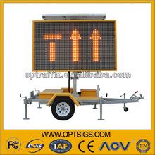 LED Full Matrix Led Panel Sign With 12V Solar Power Supply