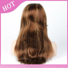 Hair Delicate and Thin Knots 100% Hand Tied Virgin Brazilian Hair African American Full Lace Wig with Baby Hair