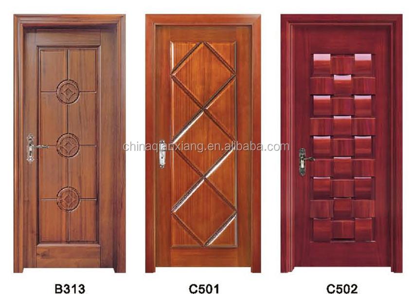Security Wooden Double Door With Un Equal Door Leaf Buy Security