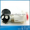 high quality 4 pin mini electric pushbutton switch with waterproof cover